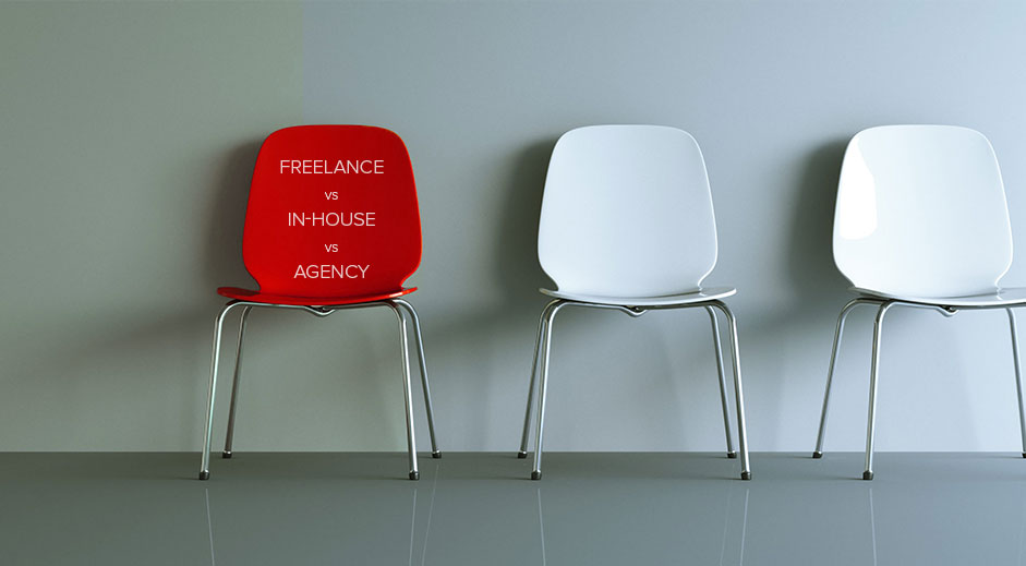 In-house designer, freelancer or agency? Who to hire