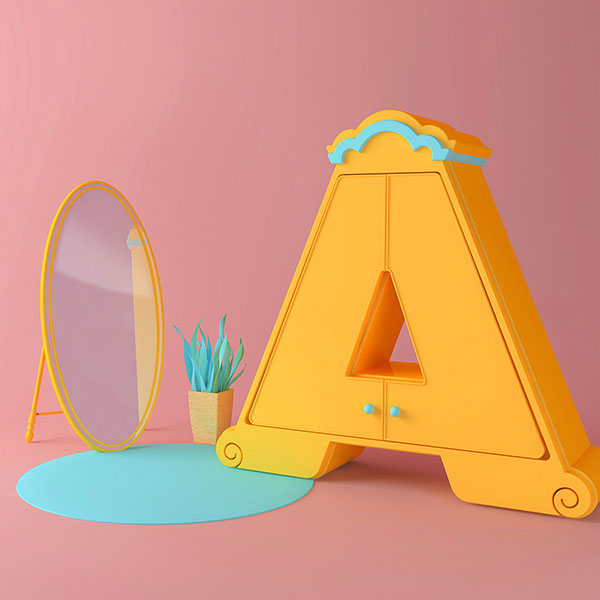 36 Days of Type project leads to adorable 3D typography A