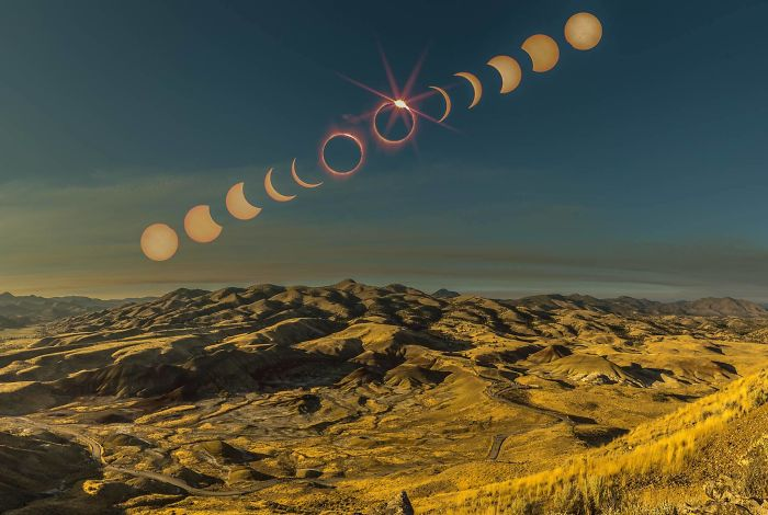 Some of the best images from the solar eclipse