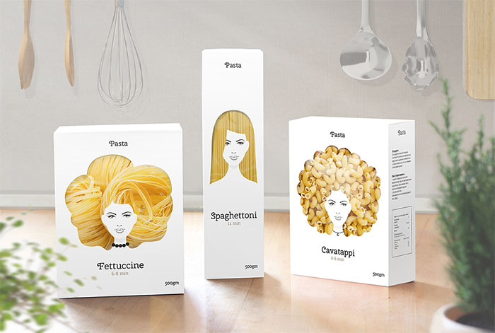 A' Design Award winner: Pasta Nikita Packaging