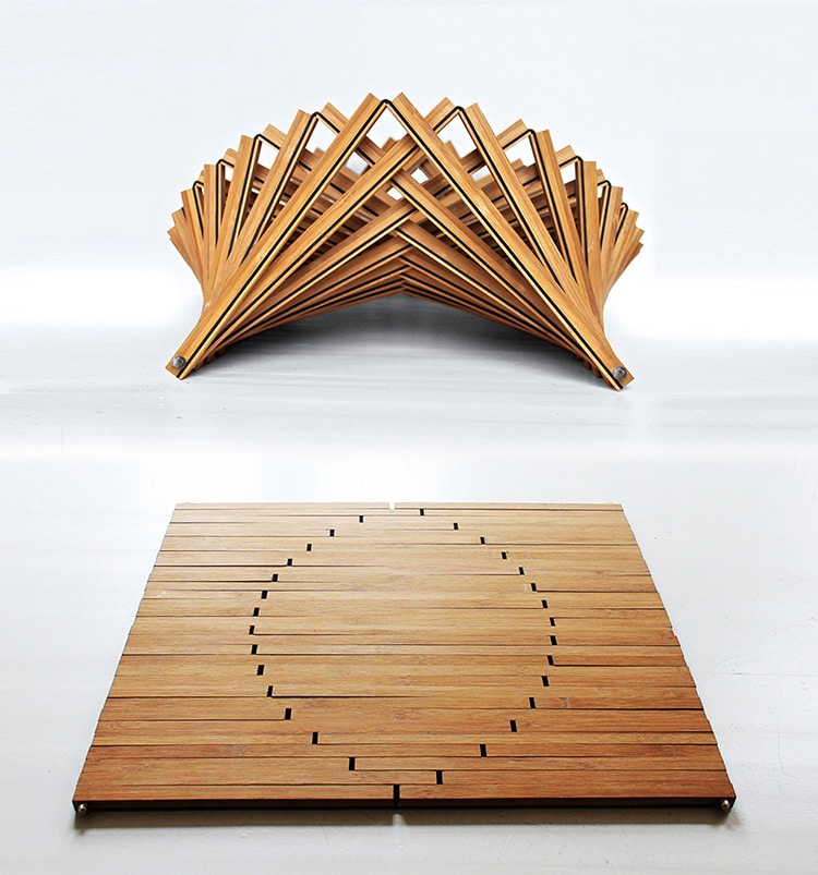 Robert van Embricqs' Rising Furniture
