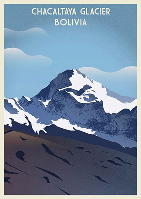 Faded Footprints: Chacaltaya Glacier, Bolivia