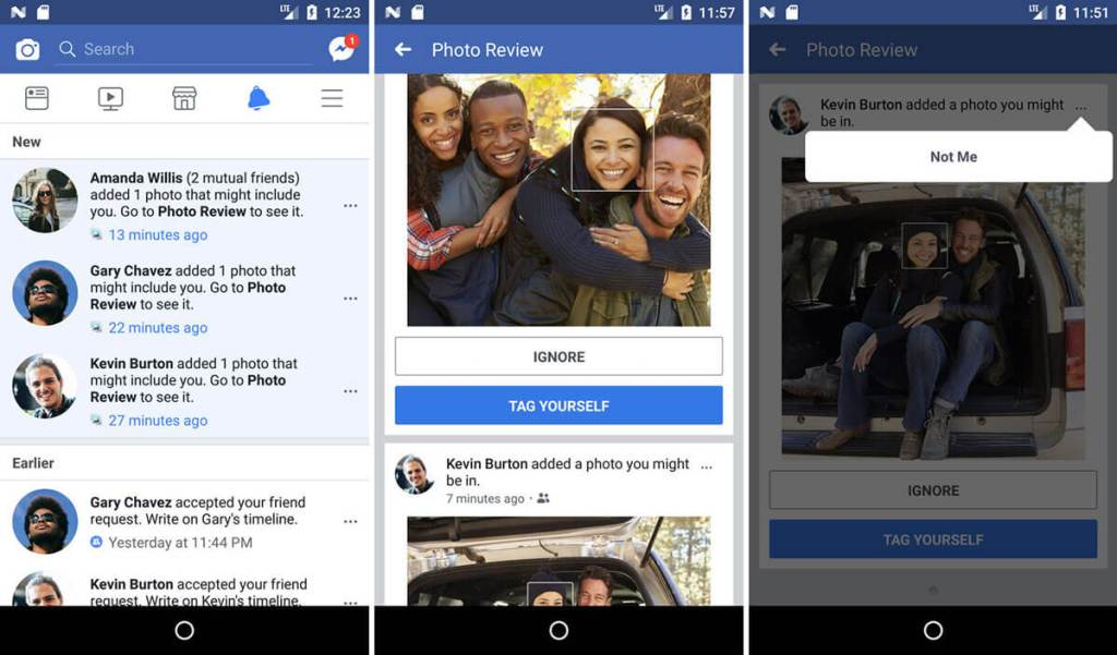 Facebook rolls out face recognition to protect your privacy