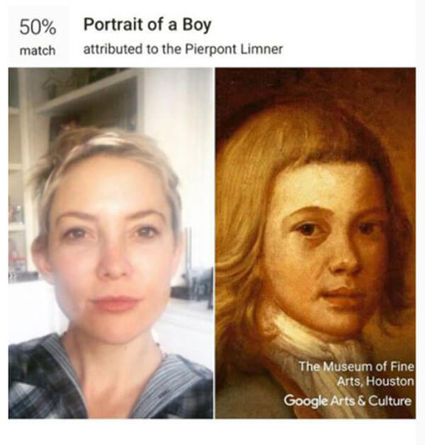 Find your painting doppelgänger with Google Arts and Culture app