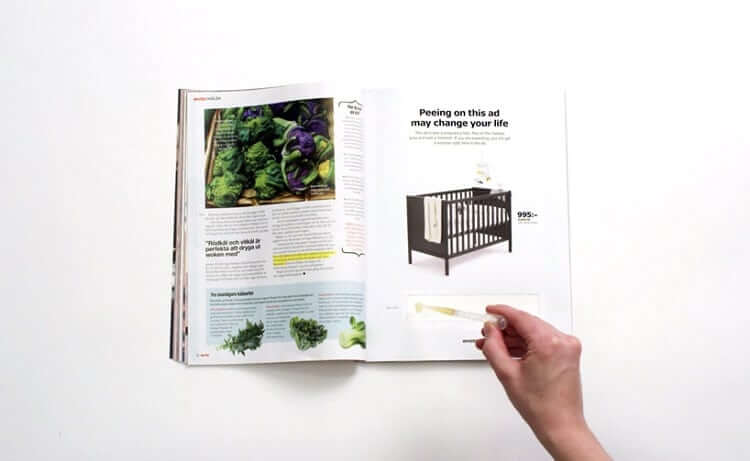 IKEA encourages you to pee on its ad