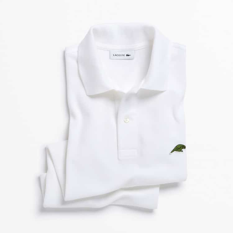 Limited Edition Lacoste Endangered Species Polos: Kakapo Parrot