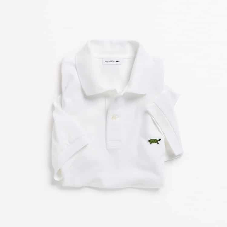 Limited Edition Lacoste Endangered Species Polos: Burmese Roofed Turtle