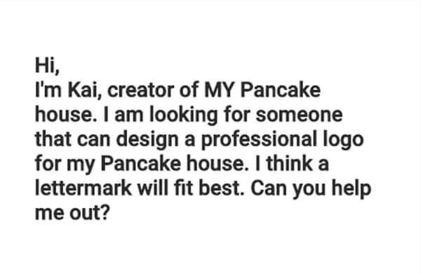 Website generates random briefs for you to practice logo design