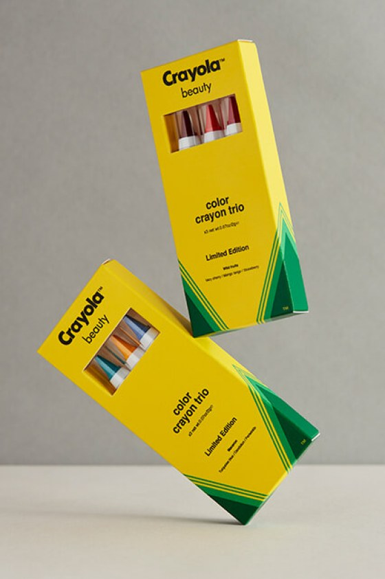 Colour outside the lines with Crayola Beauty makeup