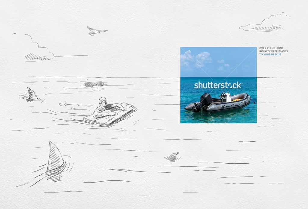 Castaway: Shutterstock comes to the rescue
