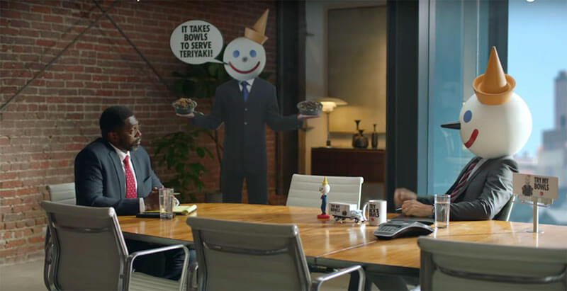 People aren't happy with the new Jack in the Box teriyaki bowls commercial