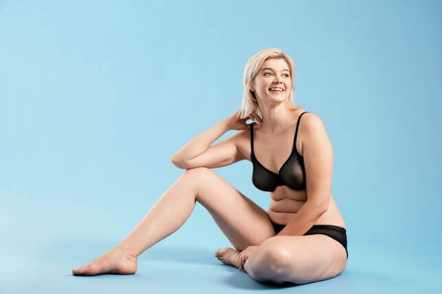 Figleaves lingerie campaign bans airbrushing with model Khrystyana Kazakova