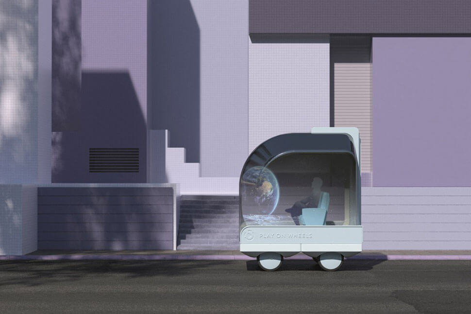 IKEA self-driving cars: Play on Wheels