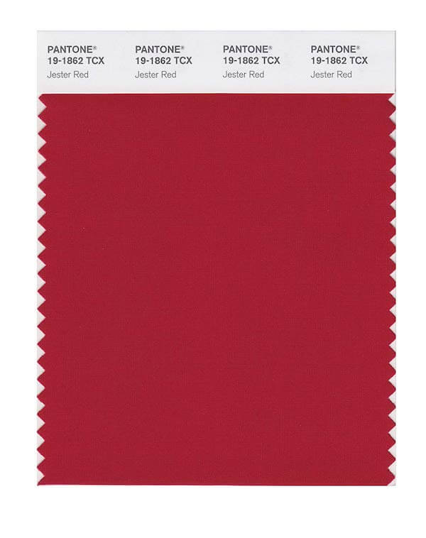 Pantone fashion trend report on Spring/Summer 2019: Jester Red