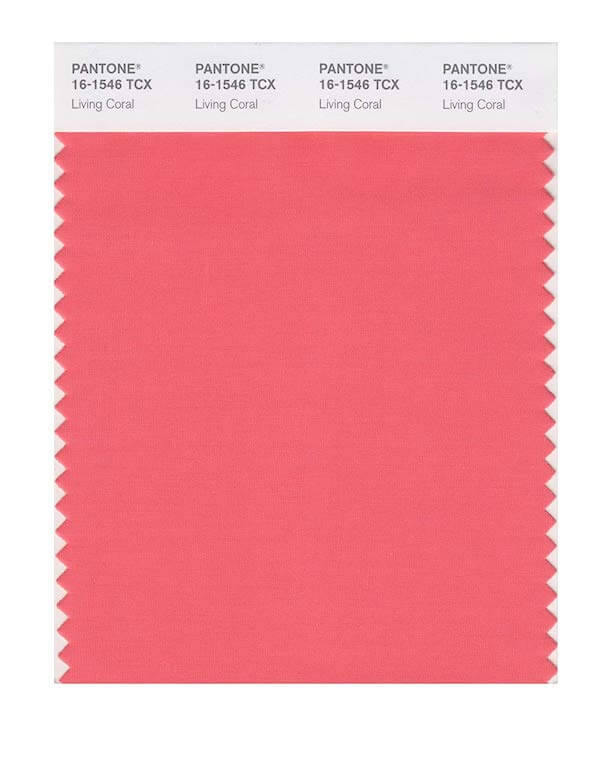 Pantone fashion trend report on Spring/Summer 2019: Living Coral