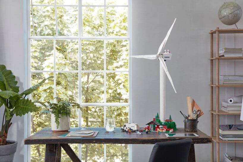 LEGO debuts functional wind turbine made from eco-friendly bricks