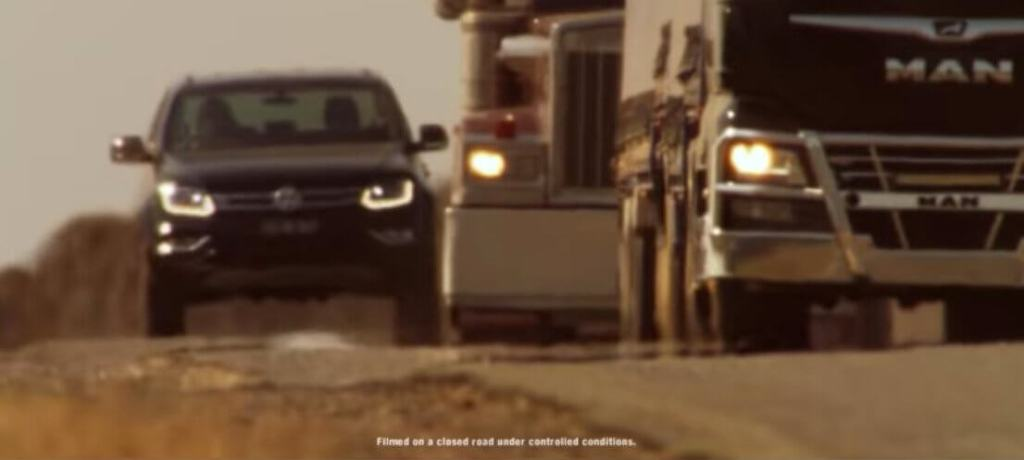 "Volkswagen's ""Too powerful for TV"" ad bannd"
