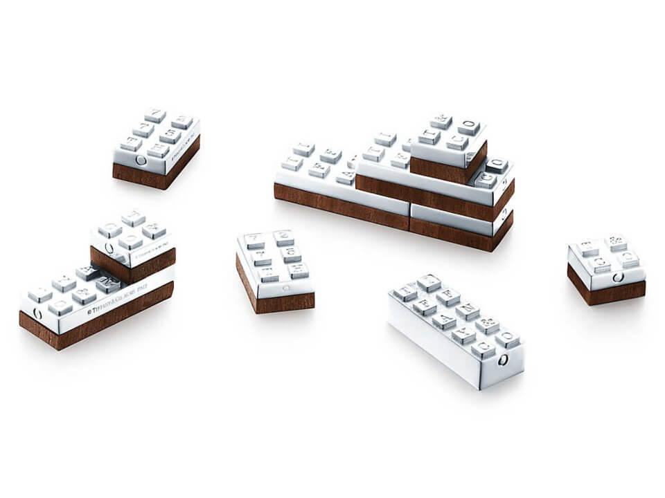Fancy LEGO: Sterling Silver Building Blocks by Tiffany & Co.