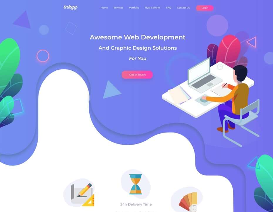 2019 Web Design Trends: Fluid and Organic Shapes