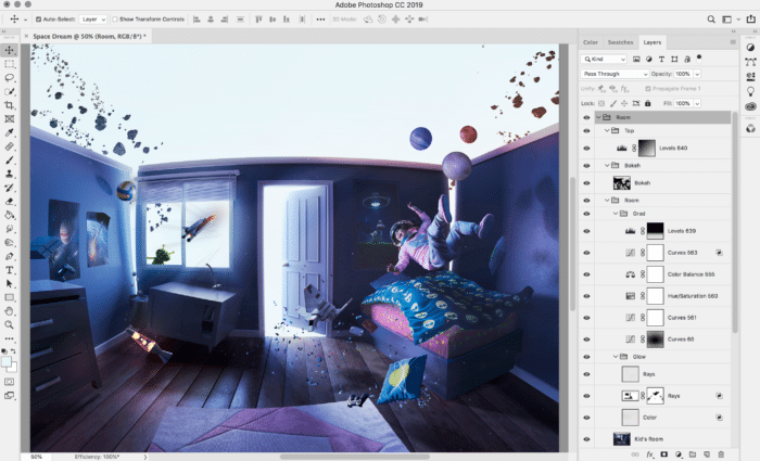 A full version of Photoshop CC for the iPad