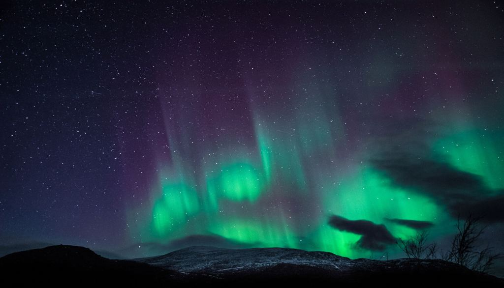Norther Lights over Finland