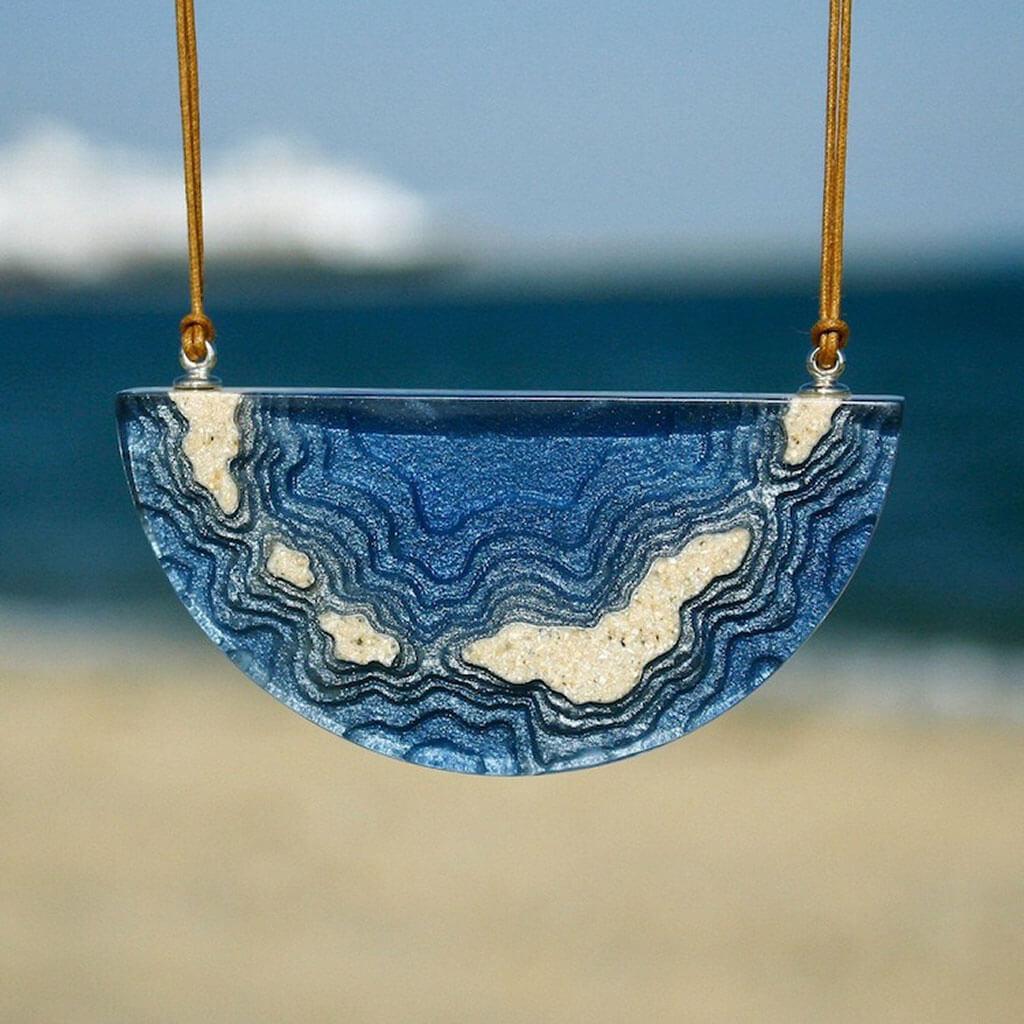 Beach jewellery by Britta Boeckmann