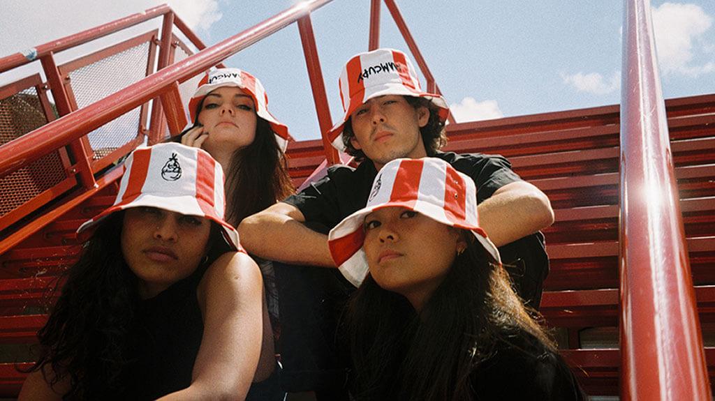 KFC's fried chicken bucket hat