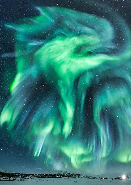 Aurorae astronomy photograph