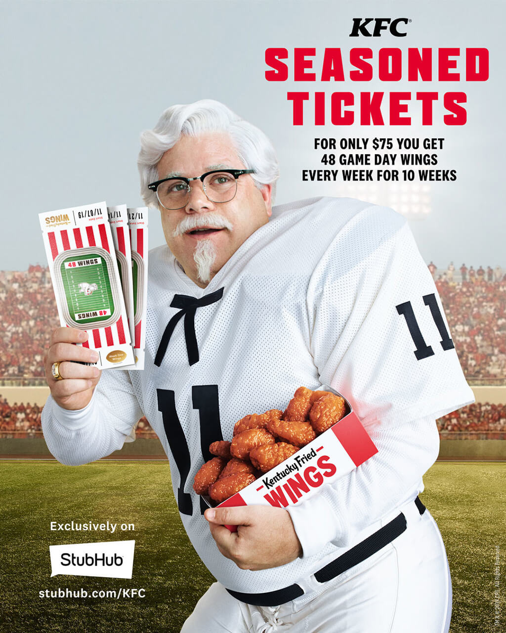 KFC's Seasoned Tickets in conjunction with StubHub