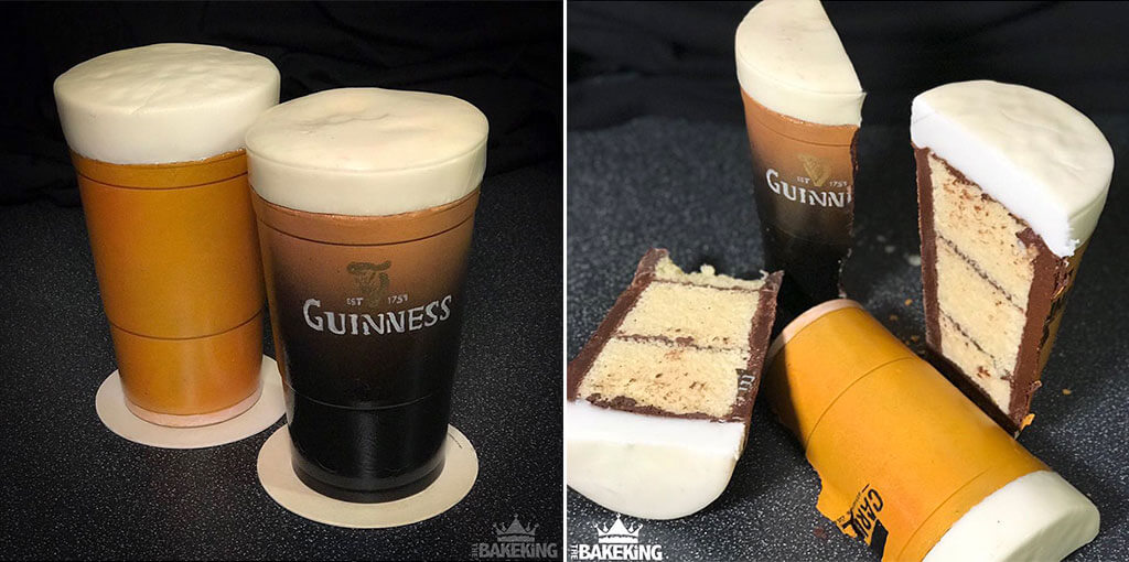 Guinness confection creation