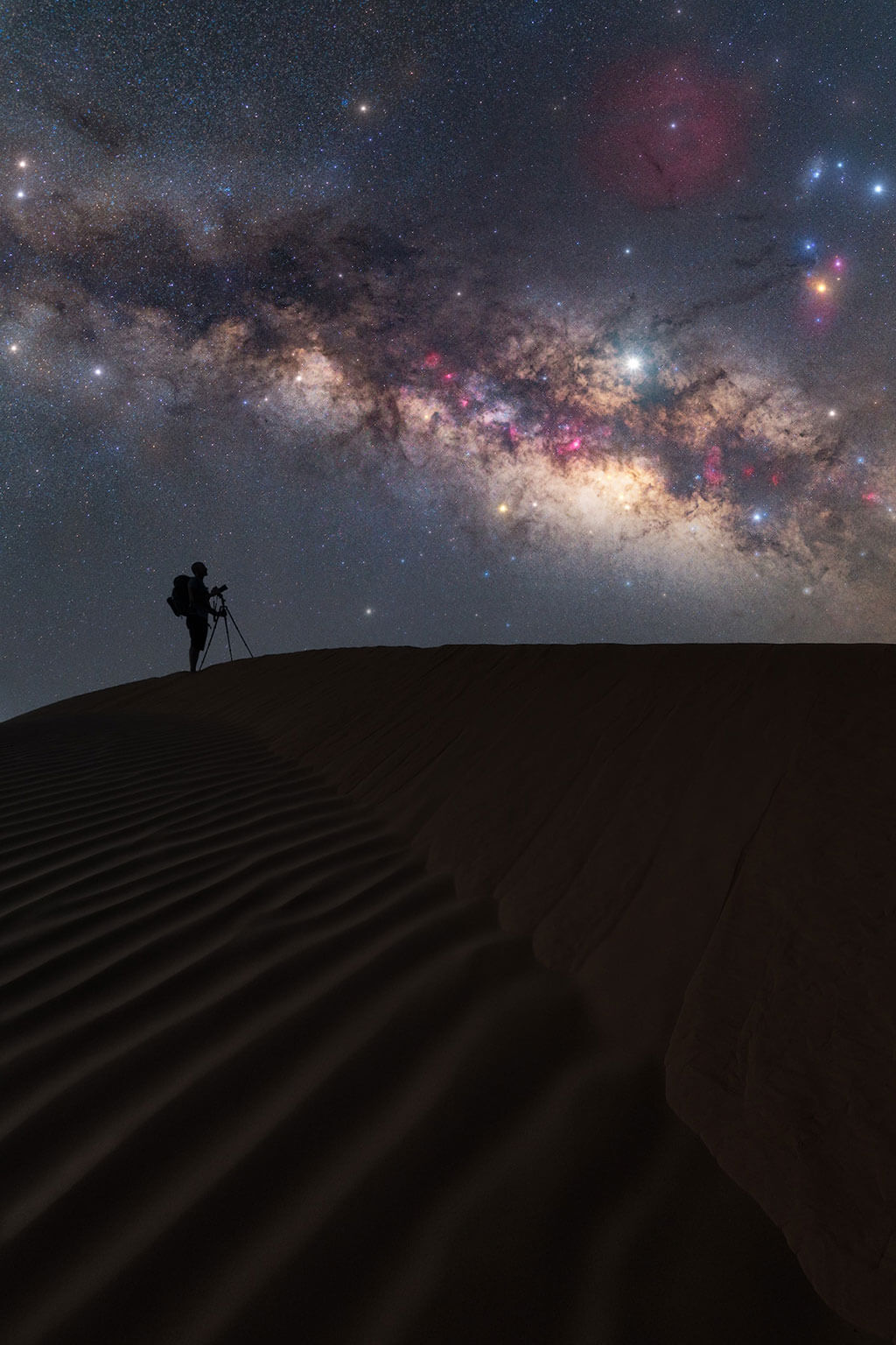 Astrophotography from the Sahara