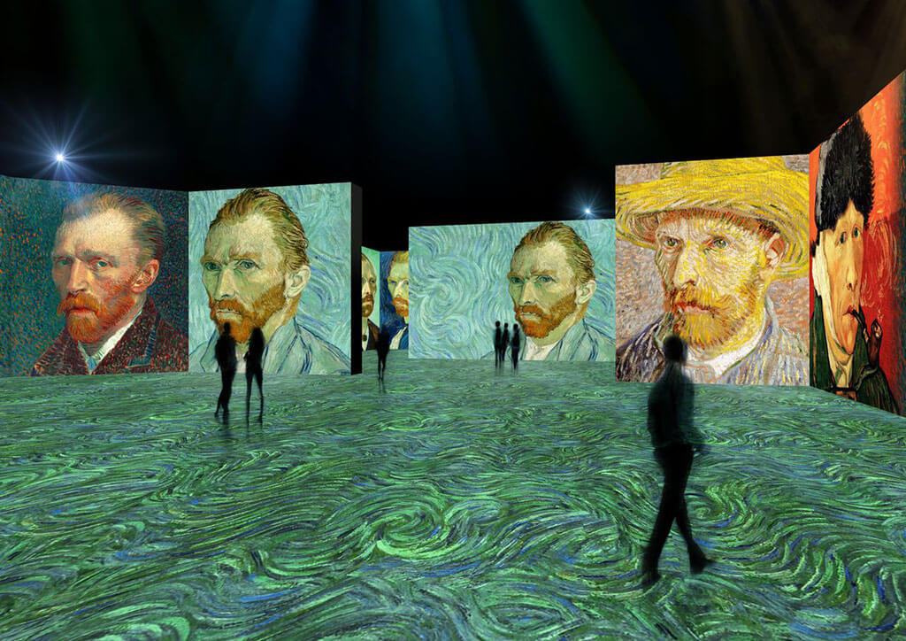 Immersive Van Gogh exhibition in Indianapolis