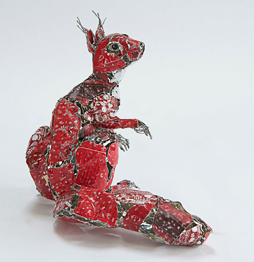 Barbara Franc animal sculptures