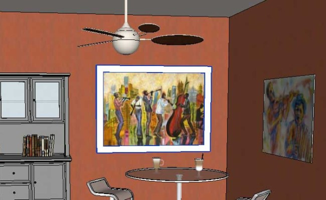 Adding Wall Art In Sketchup Posters 37 Daniel Tal