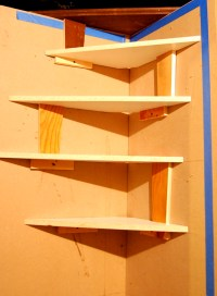 DIY Corner Bookshelf Design Plans Download bookcase plans