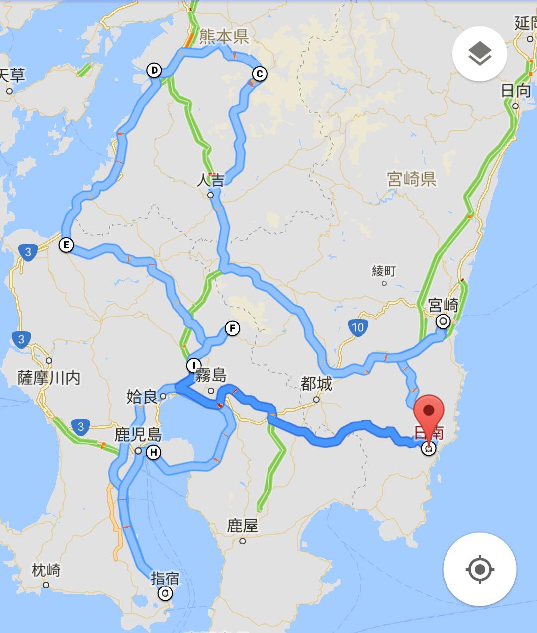 2017南九州十天自駕遊索引 – 悠遊行續集2