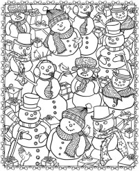 21 Christmas Printable Coloring Pages - all Life Moment Celebration