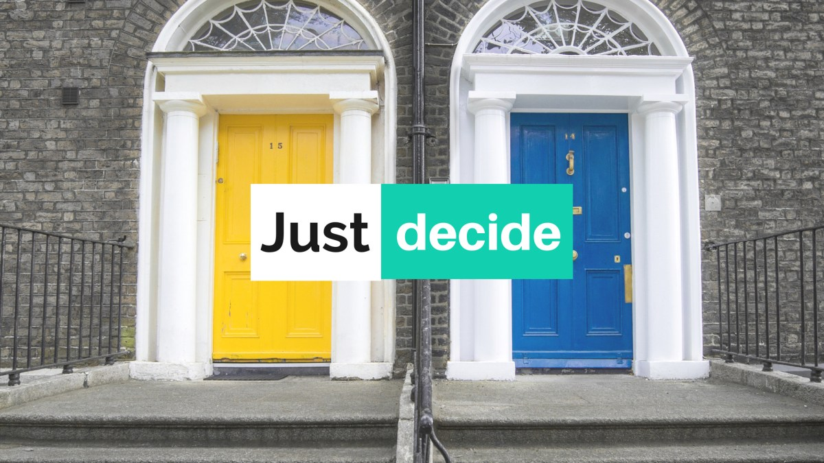 How to decide what you want