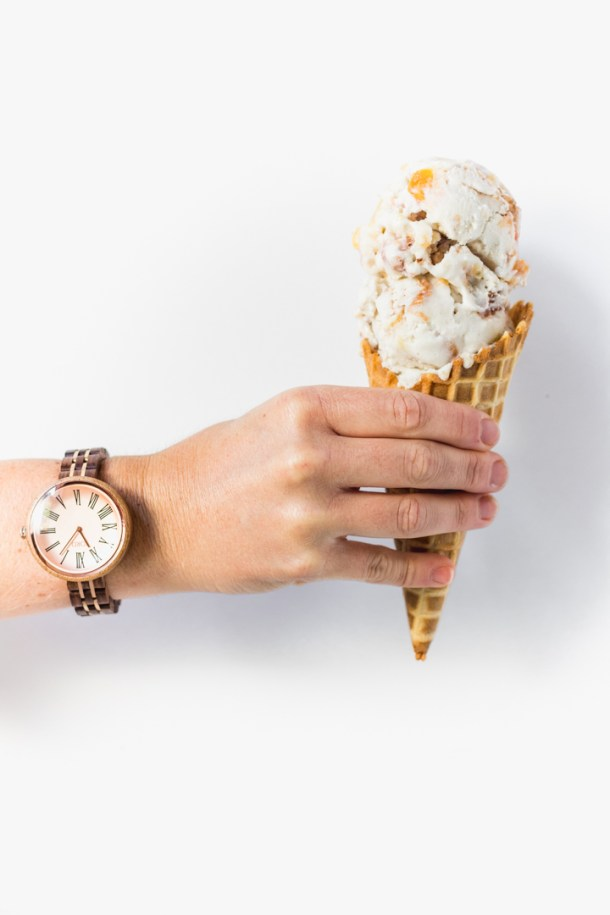 Honey Bourbon Ice Cream Cone .jpg