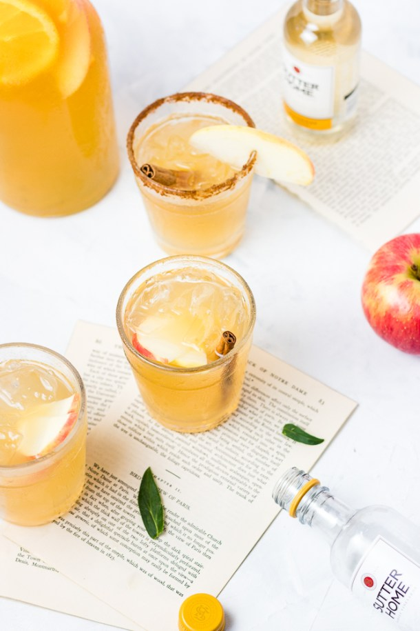 Ginger Apple Cider Sangria -1