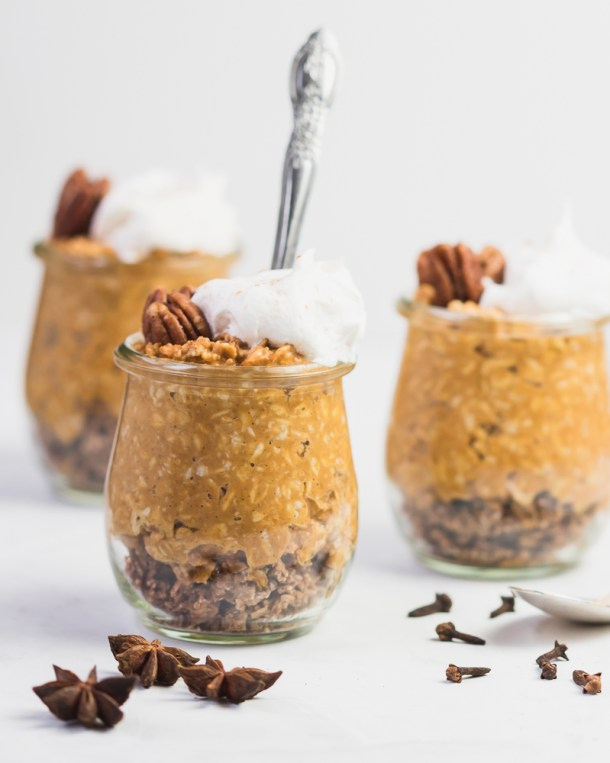 Chai Tea Pumpkin Pie Oats -1-2