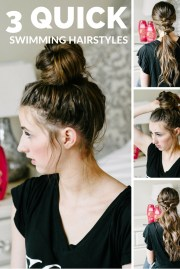 3 summer pool hairstyles beauty