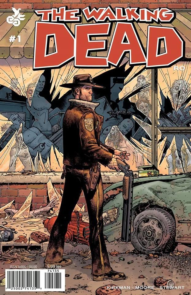 Benzile desenate The Walking Dead în România