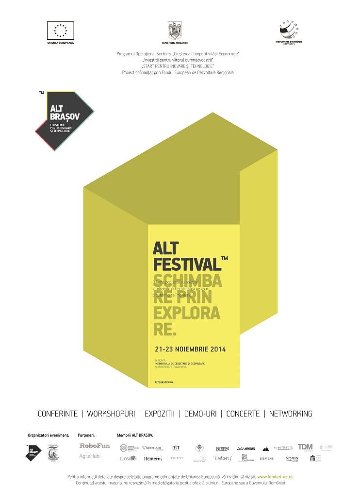 ALT Festival, festivalul de tehnologie de la Brașov