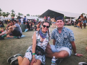 vegan food and car camping coachella review