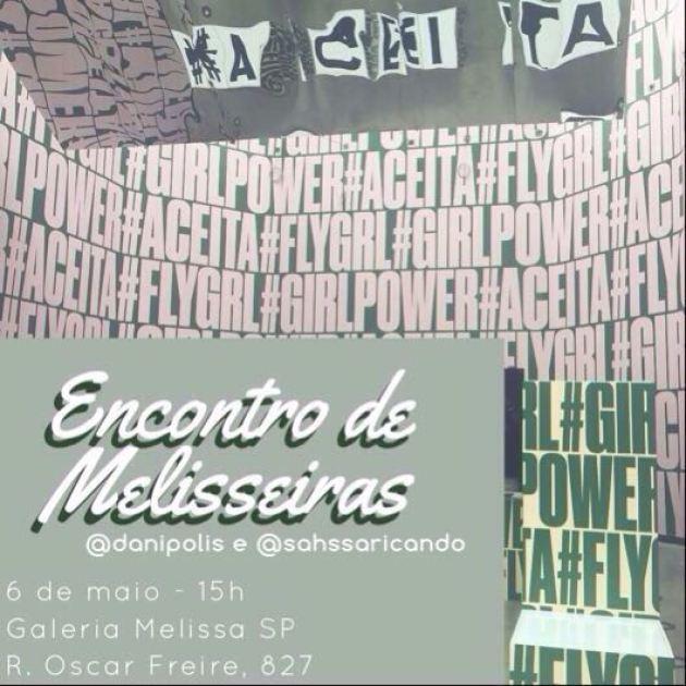 Encontro Galeria Melissa
