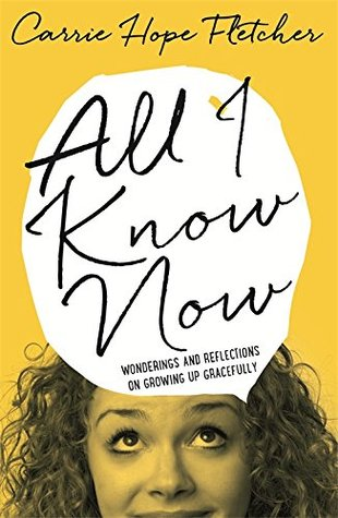 All I Know Now cover