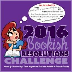 My 2016 #BookishResolutions