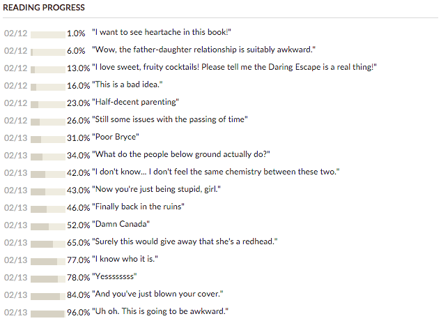 The Ruins goodreads updates Dani Reviews Things