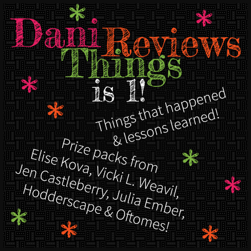 Dani Reviews Things is 1!